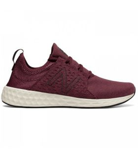 Zapatillas New Balance Fresh Foam Cruz On Hombre Burdeos. Oferta y Comprar online