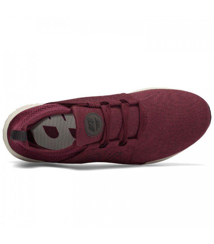 Compra online Zapatillas New Balance Fresh Foam Cruz On Hombre Burdeos en oferta al mejor precio