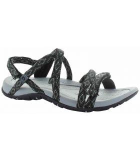 Sandalia Hi-Tec Santorini Strap Mujer Negro. Oferta y Comprar online