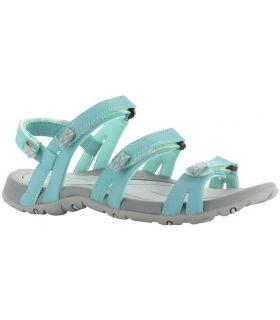 Sandalias Hi-Tec Delos Mujer Azul