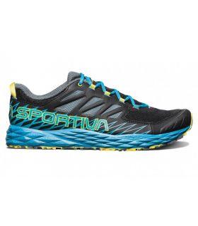 Zapatillas La Sportiva Lycan Hombre Negro Azul
