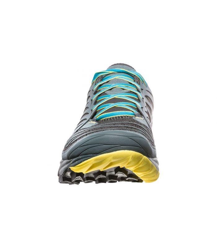 Compra online Zapatillas La Sportiva Akasha Hombre Gris Azul en oferta al mejor precio