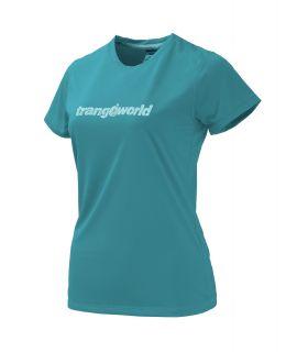 Camiseta Trangoworld Kewe DT Mujer Azul