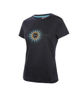 Camiseta TrangoWorld Sorores Mujer Antracita Azul