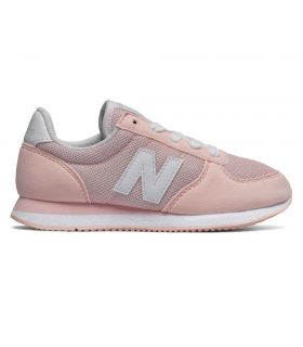 Zapatillas New Balance KL220 Rosa Blanco