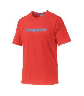Camiseta Trangoworld Omiz DT Hombre Rojo