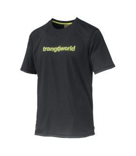 Camiseta Trangoworld Omiz DT Hombre Antracita Verde