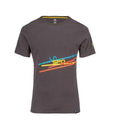 Camiseta La Sportiva Stripe 2.0 Hombre Carbon