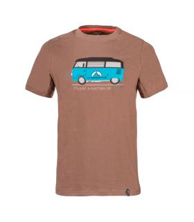 Camiseta La Sportiva Van Hombre Marron