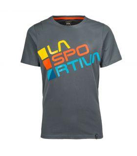 Camiseta La Sportiva Square Hombre Gris. Oferta y Comprar online