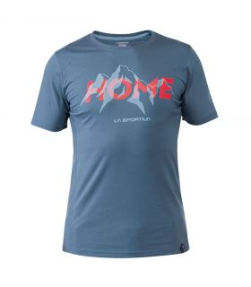 Camiseta La Sportiva Mountain is Home Hombre Gris