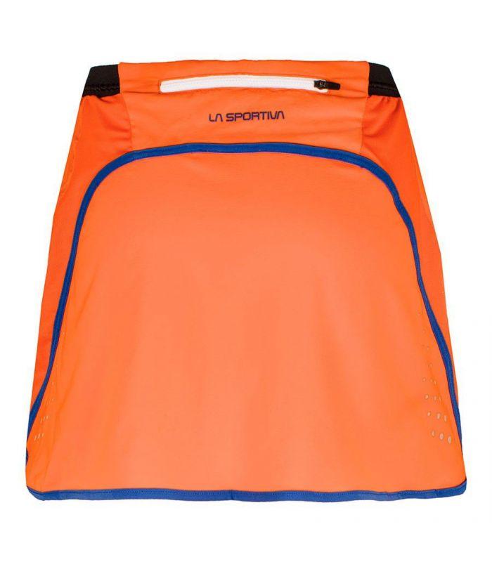 Compra online Falda pantalón La Sportiva Comet Mujer Naranja en oferta al mejor precio