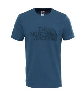 Camiseta de trekking The North Face Dome Tee Hombre Azul Oscuro