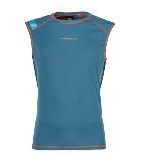 Camiseta La Sportiva Rocket Tank Hombre Azul