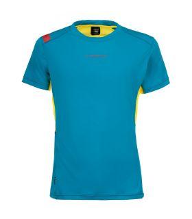 Camiseta La Sportiva Blitz Hombre Azul. Oferta y Comprar online