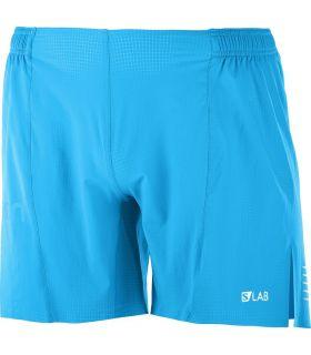 Pantalones Salomon S-Lab Short 6 M Hombre Azul