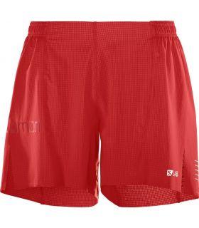 Pantalones Salomon S-Lab Short 6 M Hombre Rojo
