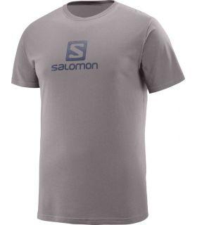 Camiseta Salomon Coton Logo SS Tee Hombre Marron