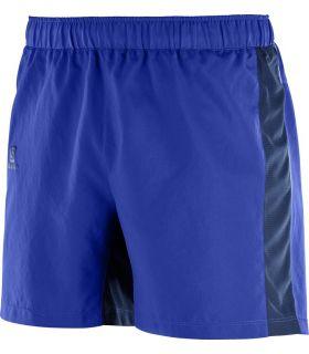 "Pantalones Salomon Agile 5"" Short Hombre Azul"