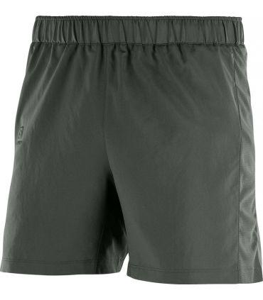 """Pantalones Salomon Agile 5"""" Short Hombre Gris"""