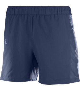 """Pantalones Salomon Agile 5"""" Short Hombre Azul Oscuro"""