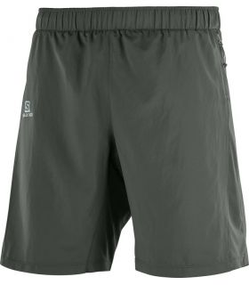 Pantalones Salomon Agile 2in1 Short Hombre Gris