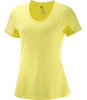 Camiseta running Salomon Agile SS Tee Mujer Lima