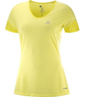 Camiseta Salomon MC Trail Runner SS Mujer Lima