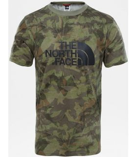 Camiseta The North Face Easy Tee Hombre Verde