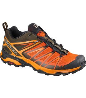Zapatillas de trekking Salomon X Ultra 3 Hombre Naranja