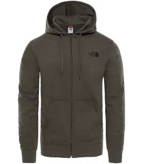 Sudadera The North Face Open Gate Full Zip Hood Light Hombre Verde. Oferta y Comprar online