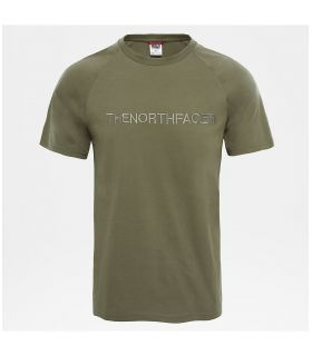 Camiseta The North Face S/S Kcc Chest Tee Hombre Verde. Oferta y Comprar online
