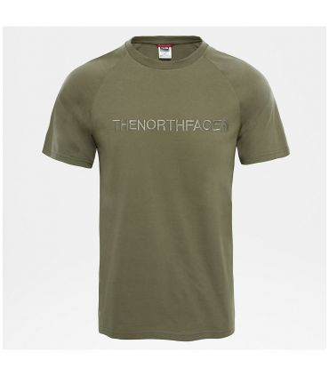 Camiseta The North Face S/S Kcc Chest Tee Hombre Verde