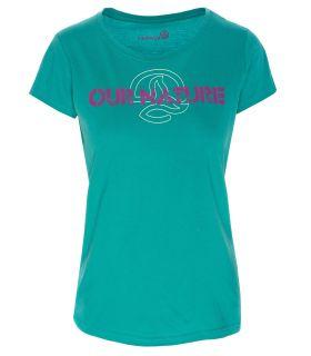 Camiseta Ternua Kailey Mujer Azul. Oferta y Comprar online