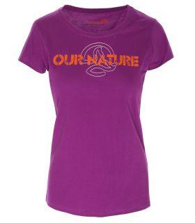 Camiseta Ternua Kailey Mujer Morado. Oferta y Comprar online