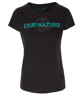 Camiseta Ternua Kailey Mujer Negro