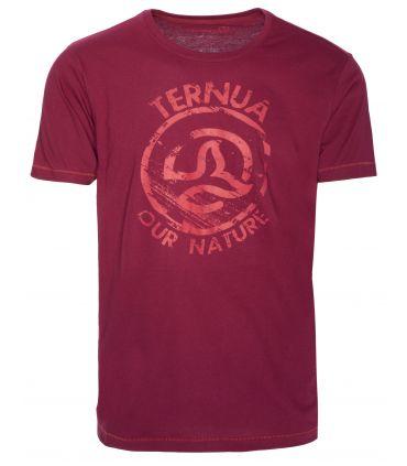 Camiseta Ternua Termon Hombre Burdeos