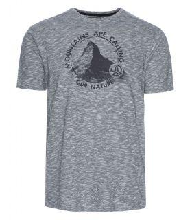 Camiseta Ternua Inness Hombre Gris. Oferta y Comprar online