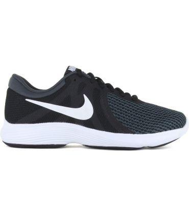 Zapatillas Nike Revolution 4 Eu Hombre Negro Blanco