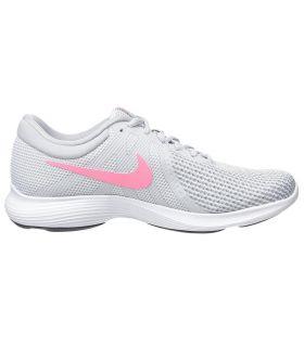 Zapatillas Nike Revolution 4 Eu Mujer Plata