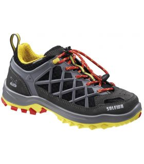 Zapatillas Salewa Wildfire Waterproof Niños Carbón