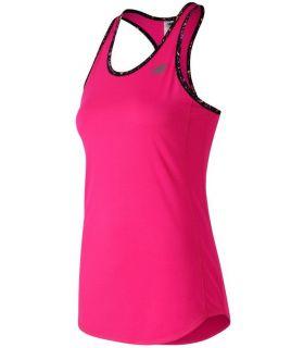 Camiseta New Balance Accelerate Tank Mujer Rosa