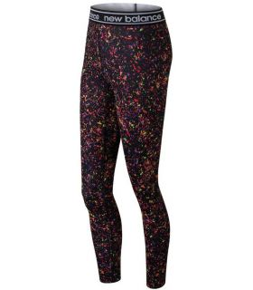 Mallas New Balance Printed Accelerate Tight Mujer Negro Multi. Oferta y Comprar online