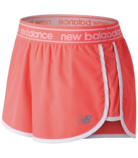 Shorts New Balance Accelerate 2.5 Inch Mujer Coral