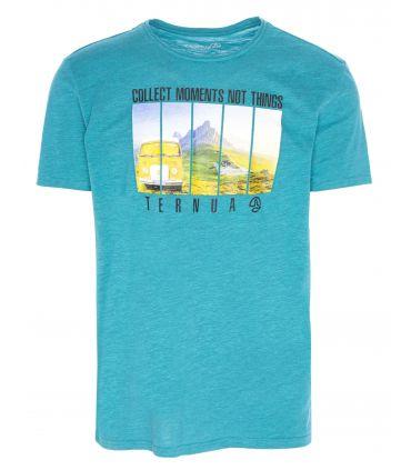 Camiseta Ternua Ricklus Hombre Azul