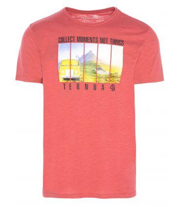 Camiseta Ternua Ricklus Hombre Rojo