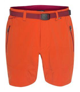 Pantalones Cortos Senderismo Ternua Fris Short Hombre Naranja