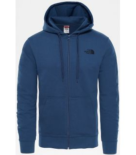 Sudadera The North Face Open Gate Full Zip Hood Light Hombre Azul. Oferta y Comprar online