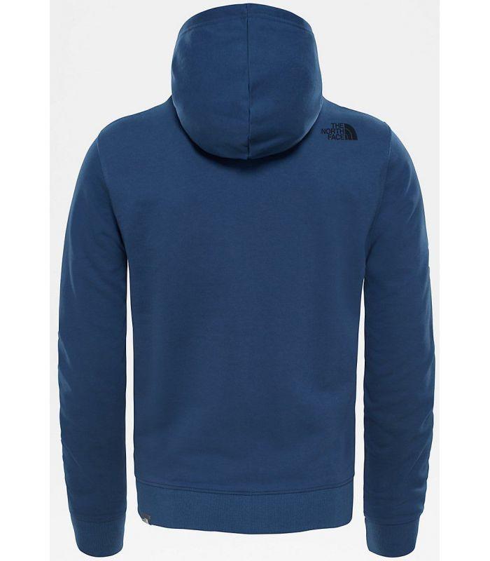 Compra online Sudadera The North Face Open Gate Full Zip Hood Light Hombre Azul en oferta al mejor precio