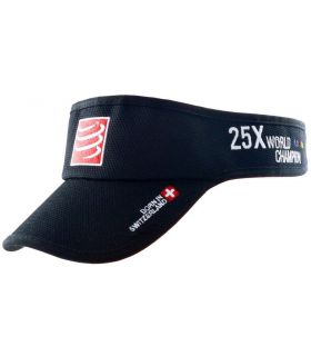 Visera Running Compressport Visor Cap Negro